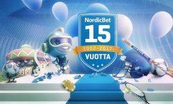 nordicbet 15 vuotta