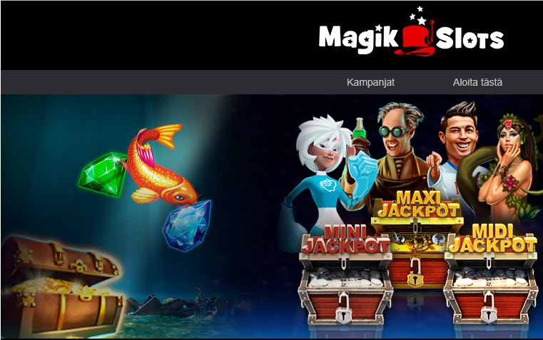 magis slots kasino etusivu
