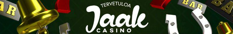 Tervetuloa Jaak Casinon asiakkaaksi