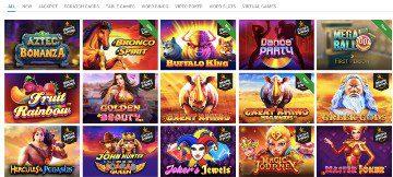 Vegaz Casino kasinopelit